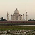 Taj Mahal at Sunset by John Dalkin