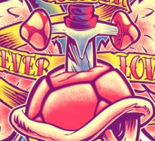 BOWSER NEVER LOVED ME (full color) Sticker
