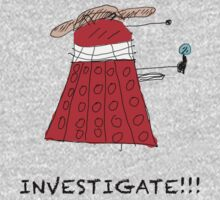 Dalek Investigate by Jonathan Lynch