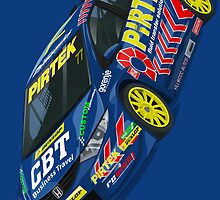 Andrew Jordan BTCC Honda Civic by RacingColour