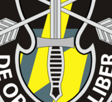 12th Special Forces Group Sticker