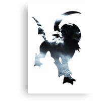 Absol used Feint Attack Canvas Print