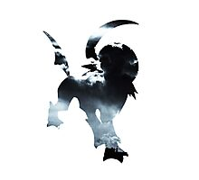 Absol used Feint Attack Photographic Print