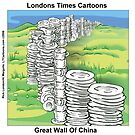 Great Wall Of China by Rick  London