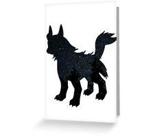 Mightyena used Dark Pulse Greeting Card