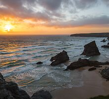 Bedruthan Sunset by Greggors