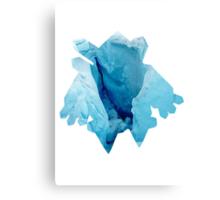 Regice used Blizzard Canvas Print