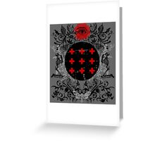 Occult theme #2 Greeting Card