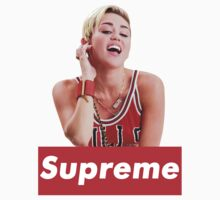 Miley Cyrus Supreme by loganator