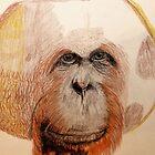 Male Orangutan by aprilann