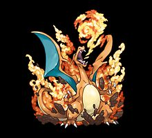 Charizard by thevillain
