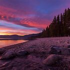 Dusk at Incline Beach by Richard Thelen