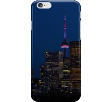 Indigo Sky and Toronto Skyline iPhone Case/Skin