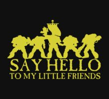 Say Hello to my Little Friends - Yellow by simonbreeze