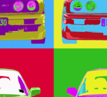 E30 Warhol'd Sticker
