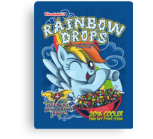 Rainbow Drops - Total Awesome! Canvas Print