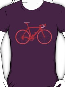 Bike Pop Art (Red & Pink) T-Shirt