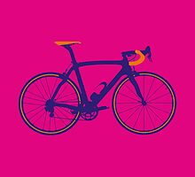 Bike Pop Art (Purple & Orange) by sher00