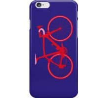 Bike Pop Art (Red & Pink) iPhone Case/Skin