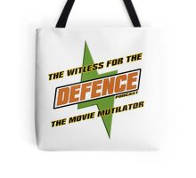 The Witless For The Defence T-shirt Tote Bag