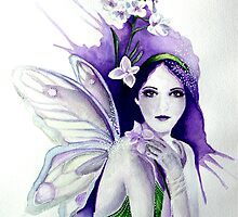 Lady's Smock Faerie by Helenfaerieart
