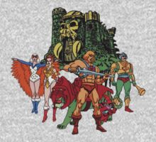 Team Grayskull by metalroses