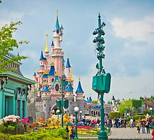 Sleeping Beauty Castle by ThatDisneyLover