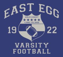 East Egg Varsity Football by LicensedThreads