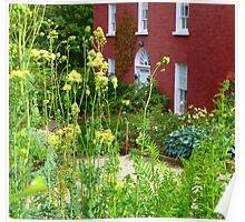 The Front Garden Of Glebe House Poster
