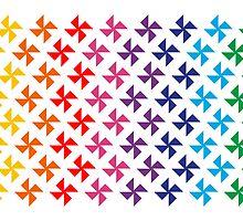 Pinwheels by Flavio Coelho