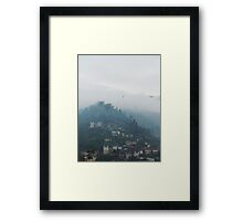 Gjirkastra, the ottoman city Framed Print