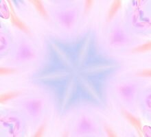 Pastel Polka Dots Fractal by Tori Snow
