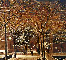 Winter In New York by Valentina Henao