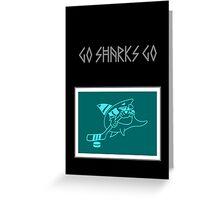 Hockey Shark Greeting Card