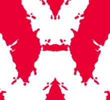 Volksbloten (red) Sticker