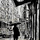new york walk by Loui  Jover