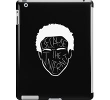 Because The Internet - White iPad Case/Skin