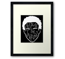 Because The Internet - White Framed Print
