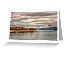 Serenity at Glenorchy, NZ Greeting Card