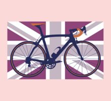 Bike Flag United Kingdom (Pink) (Big - Highlight) by sher00
