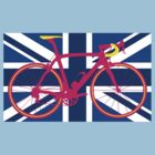 Bike Flag United Kingdom (Blue) (Big - Highlight) by sher00
