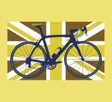 Bike Flag United Kingdom (Gold) (Big - Highlight) by sher00