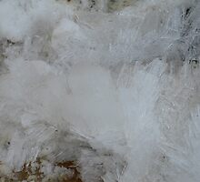 Glacier, Crystals, Ice, Jasper National Park, Canada by Elunia