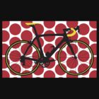 Bike Red Polka Dot (Big - Highlight) by sher00