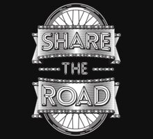 Share the road by Karl Salisbury
