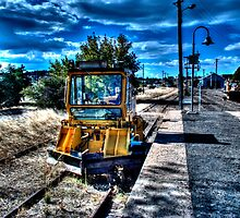 Rail Dozer by Jason Scott
