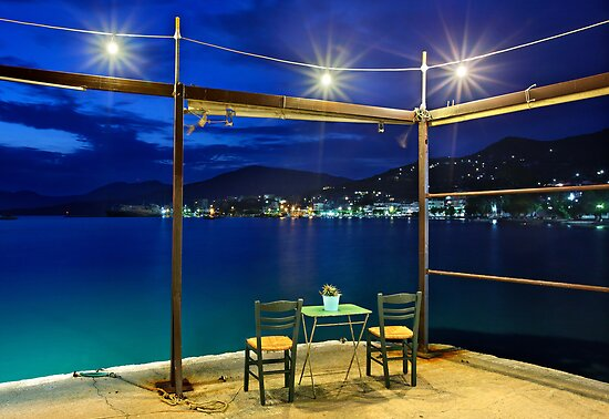 Have a seat in Marmari - Evia island by Hercules Milas