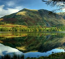 High Snockrigg....Reflections In A Lake by VoluntaryRanger