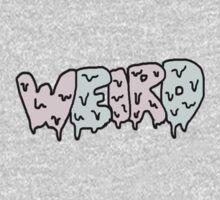 Weird Typography Kids Clothes