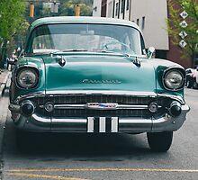 1957 Chevrolet Sedan  by David  Stephenson